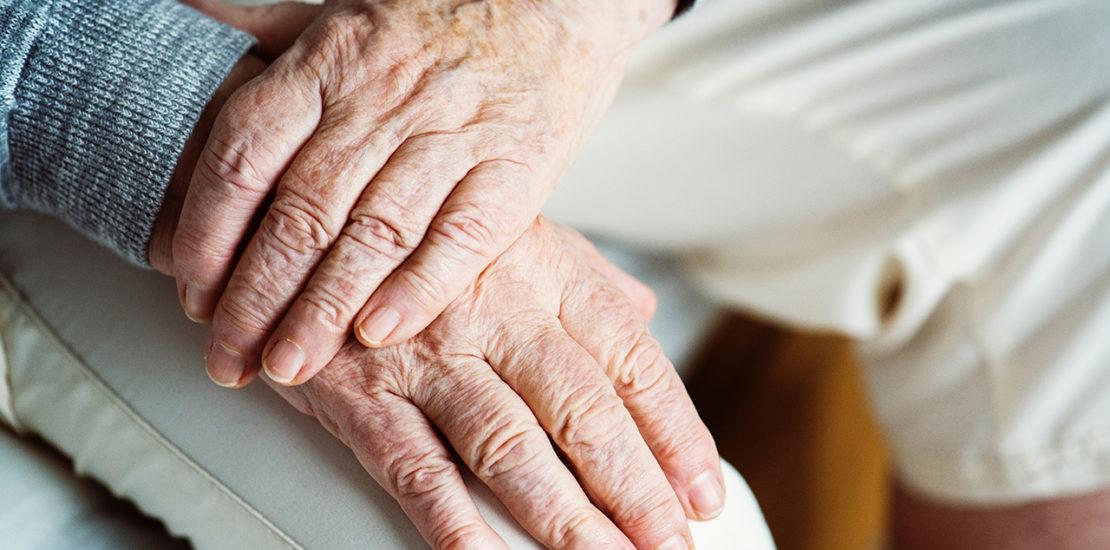 Long Term Care insurance, elderly hands