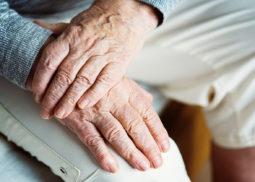 Long Term Care insurance, elderly hands
